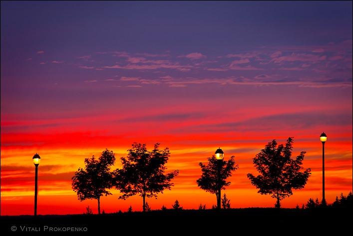 Sunset at Highlands Blvd