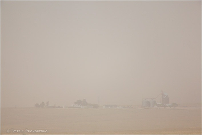 Dust Storm in Cenral Washington