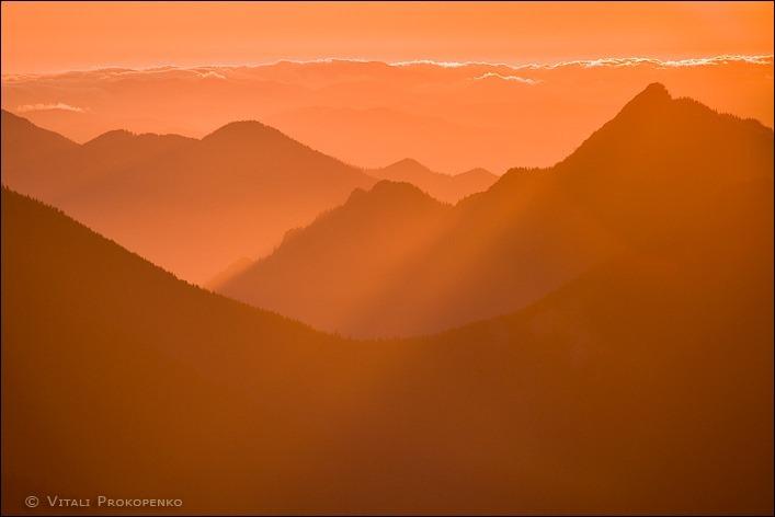 Sunset on Hurricane Hill