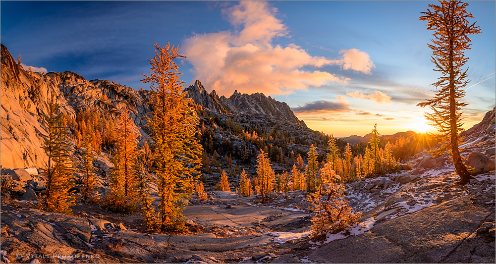 Sunrise in Enchantments